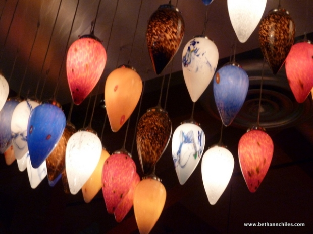 Lights in Willie G's were works of art!
