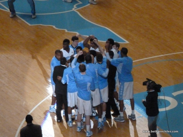 Huddle time
