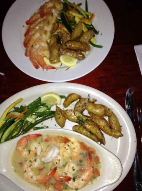 More delicious shrimp!