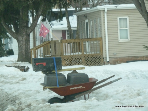 These owners took a lot of time working out their new and hopefully snowplow resistant design.