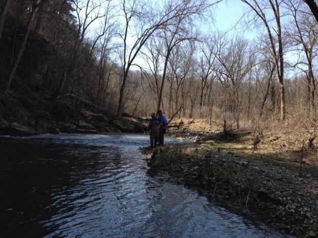 Bethy fishing