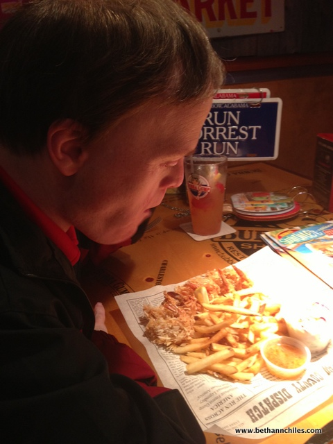 Lunch at Bubba Gump's