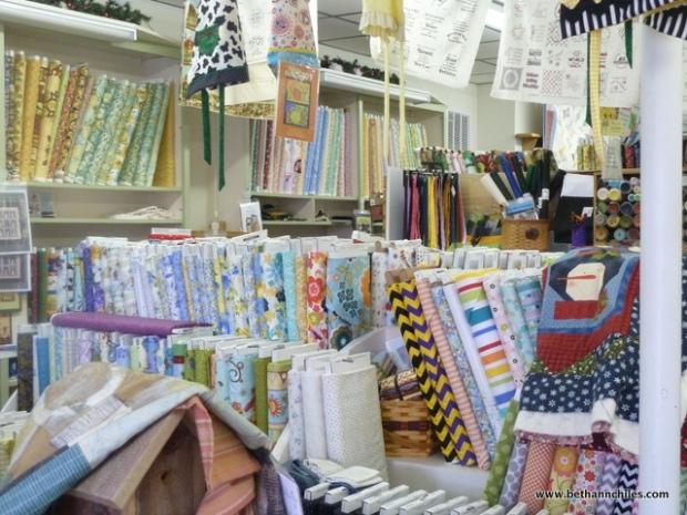 Cram packed with fabulous fabrics!