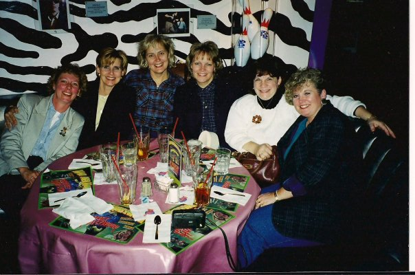 Some of our Bible Study group ladies from Freeport, IL days