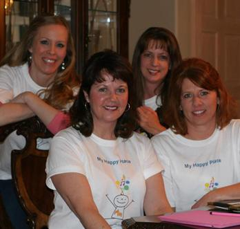 From left to right: Deidra Rattay, Lisa Tan, Lori Rattay and Micki Fredricks