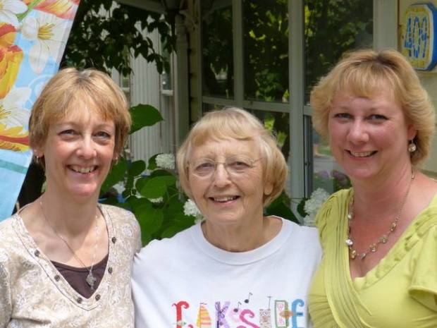 Paula, Mother, Beth Ann June 2013