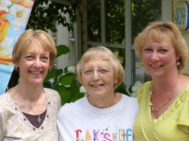 Paula, Mother, Beth Ann June 2013