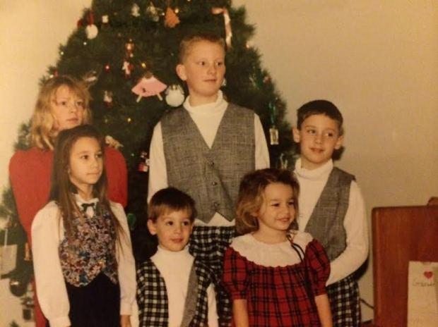 The cousins: Carla, Thomas Micah, Rachael, Aaron, Rebekah