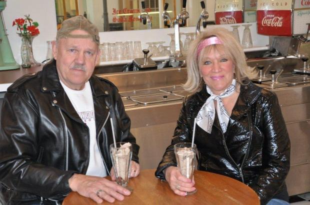 Bill Rappe and Kaye Steger photo courtesy KCMR