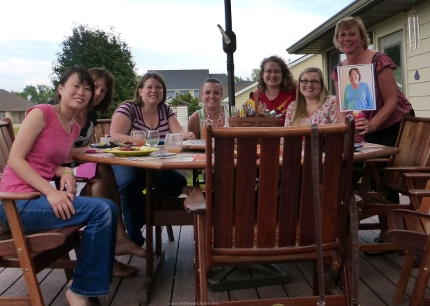 Jeni Flaa, Laura Cerney, Val Plagge, Katy Flint, Donna Hup, Amy Hild, myself and Flat Sara Broers