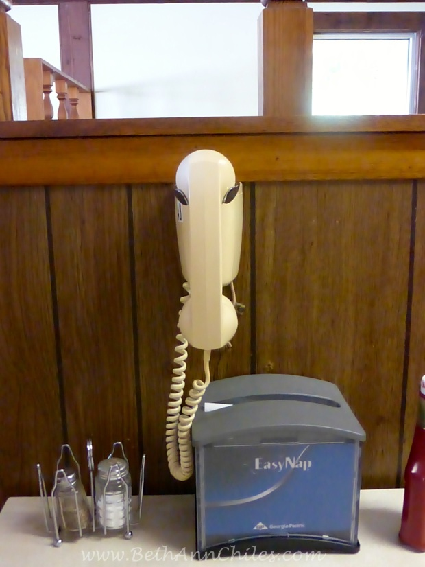 You actually can pick up the phone and order. HOw cool is that?