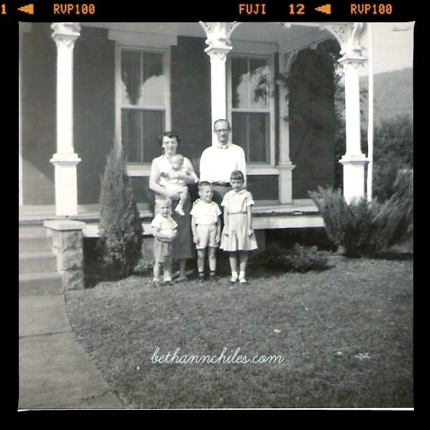 The Brown Family circa 1960