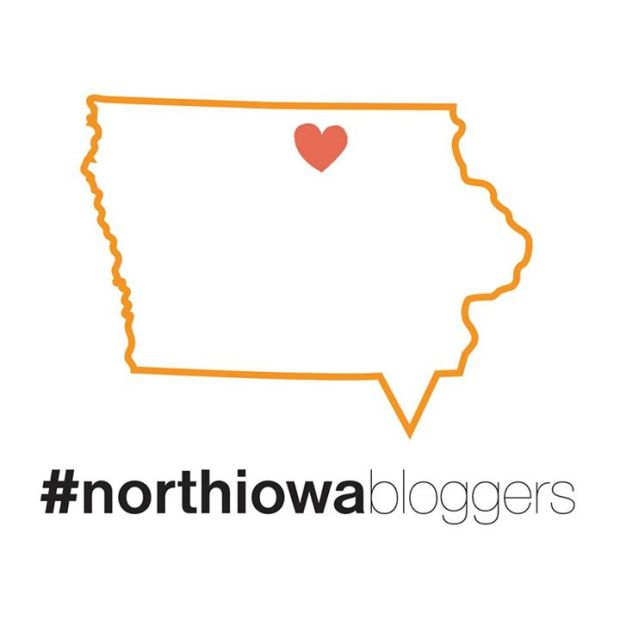 #northiowabloggers logo