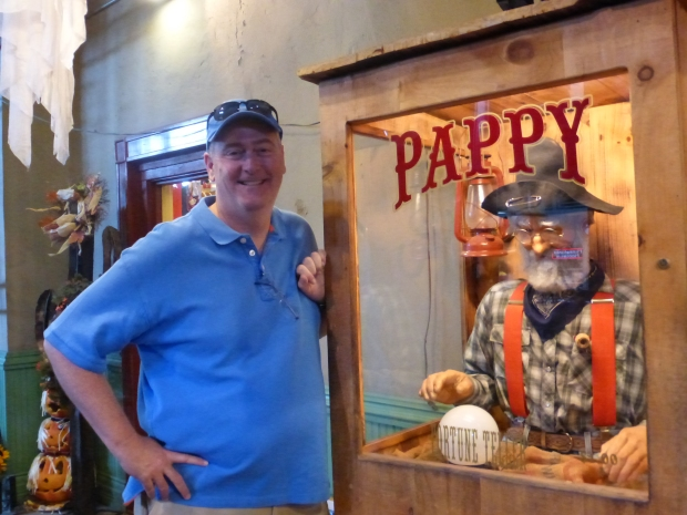 Maybe Chris gets his wisdom from Pappy!