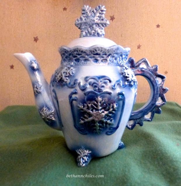 Snowflake-teapot