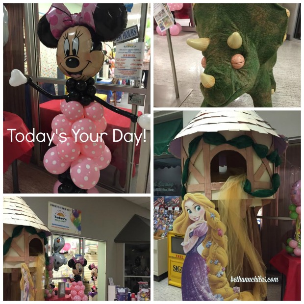 Today's Your Day is located in the Willowbook Mall in Mason City, IA.